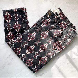F21 | Tribal Pattern Jeans